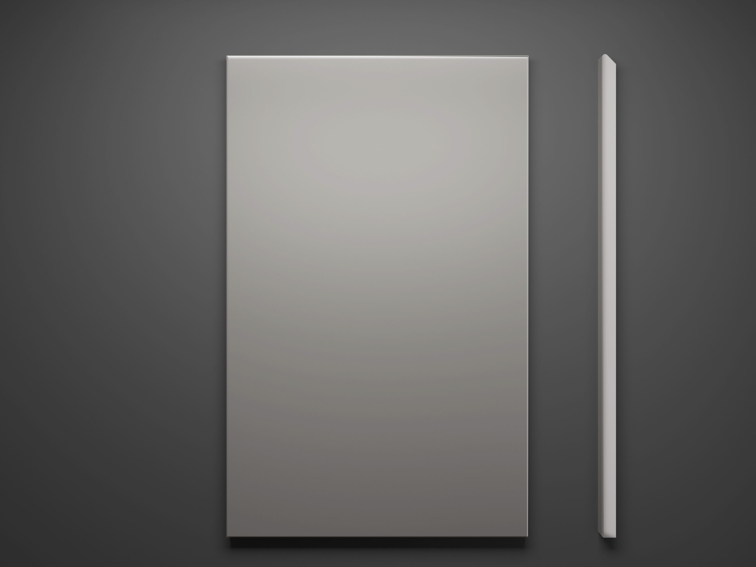 C2s Sample Door on Grey Background