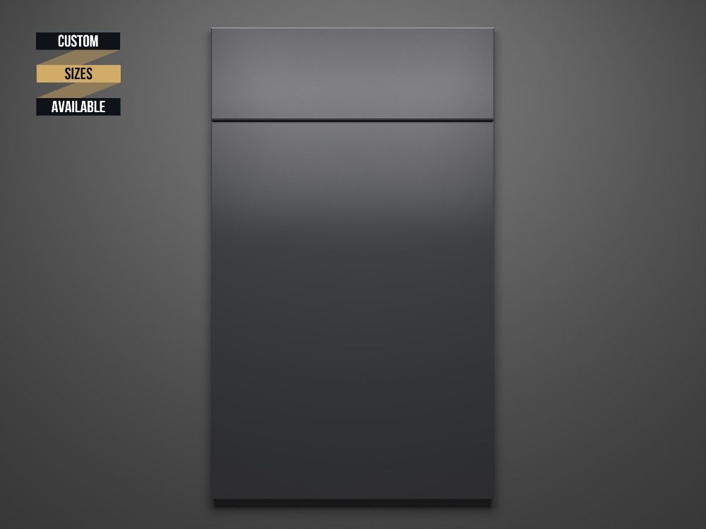 Glossy Grey Sample Door