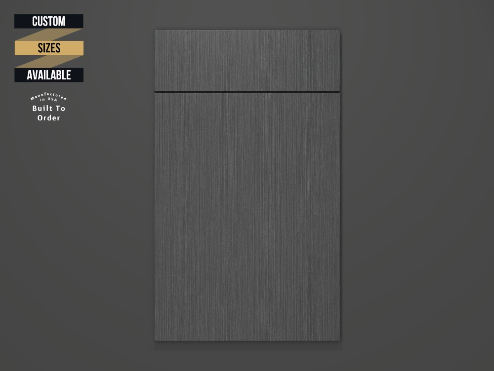 Satin Dusk Sample Door on Grey Background