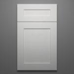 White Shaker Full Door Sample